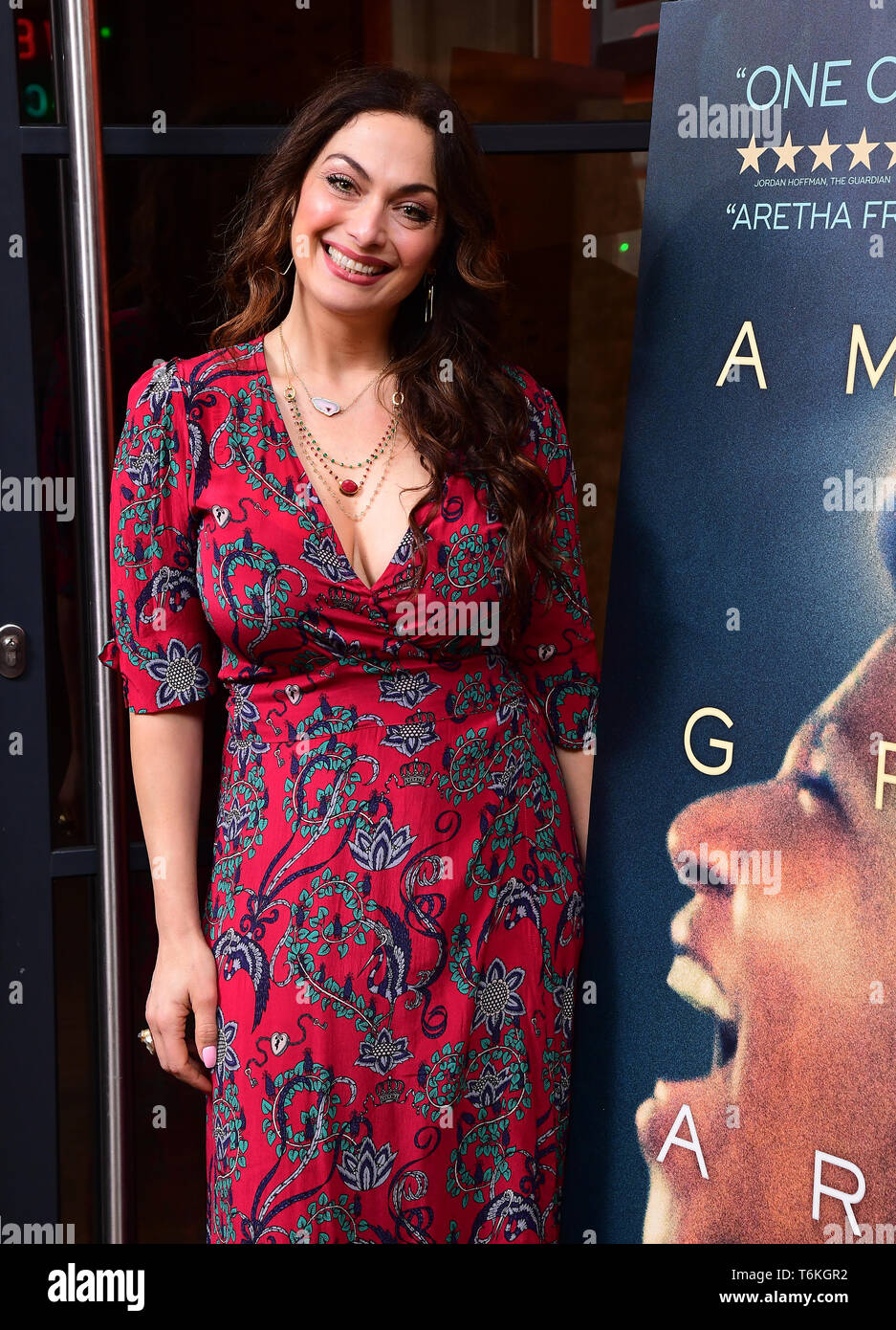 Tonia Buxton asistieron a la proyección del documental, Aretha Franklin Amazing Grace, a jamón Yard Hotel, Londres. Foto de stock