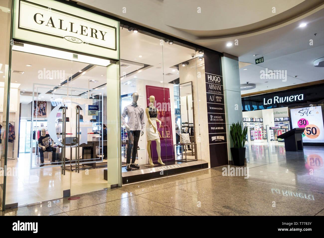 84d08389b9de Cartagena Colombia Bocagrande Square Mall Plaza signo exterior ...