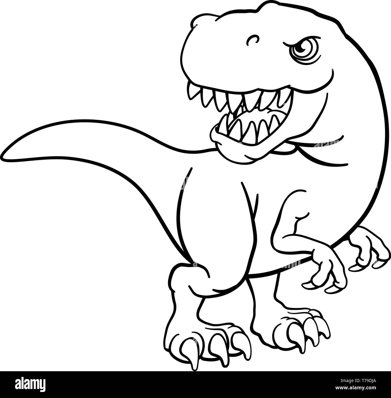 Tyrannosaurus Rex Dinosaurio T Personaje De Dibujos Animados Imagen Vector De Stock Alamy Los dinosaurios (dinosauria, del griego δεινός deinos 'terrible' y σαῦρος sauros 'lagarto': https www alamy es tyrannosaurus rex dinosaurio t personaje de dibujos animados image245456018 html