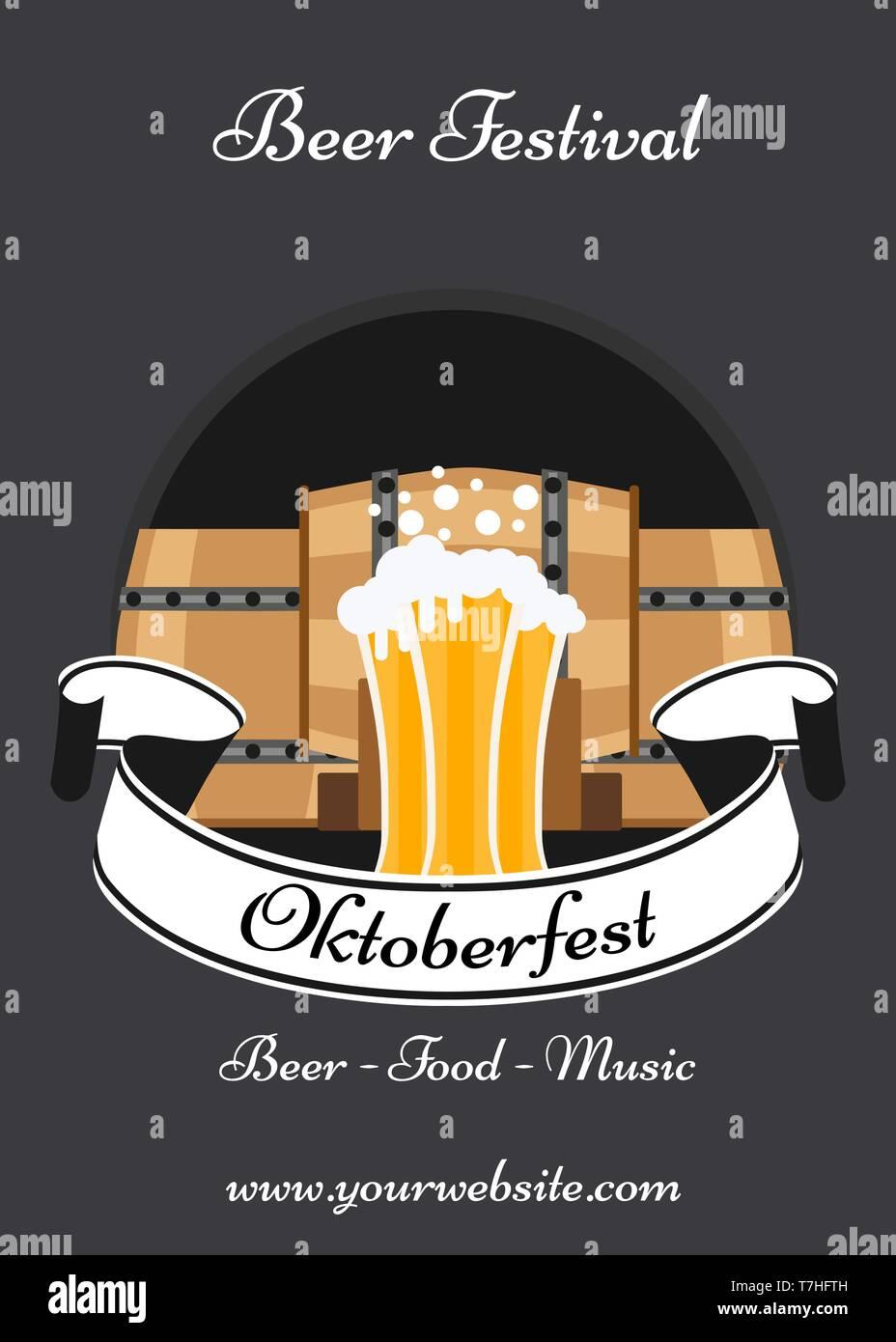 Oktoberfest Celebración Decoración Tradicional Banner De