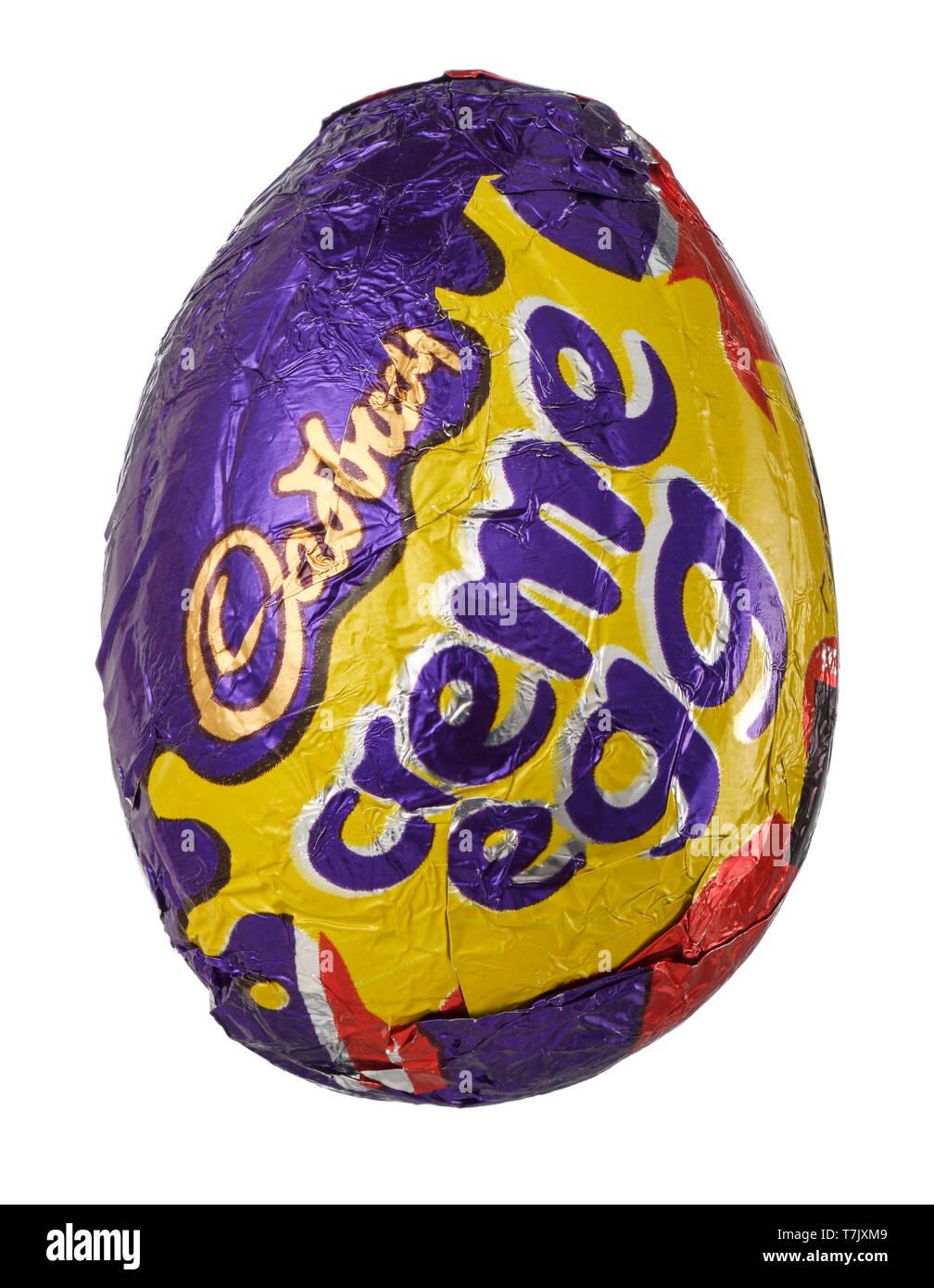 Cadbury Creme Egg Foto de stock