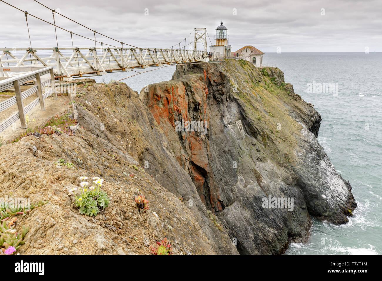 Faro de Punta Bonita Imagen De Stock