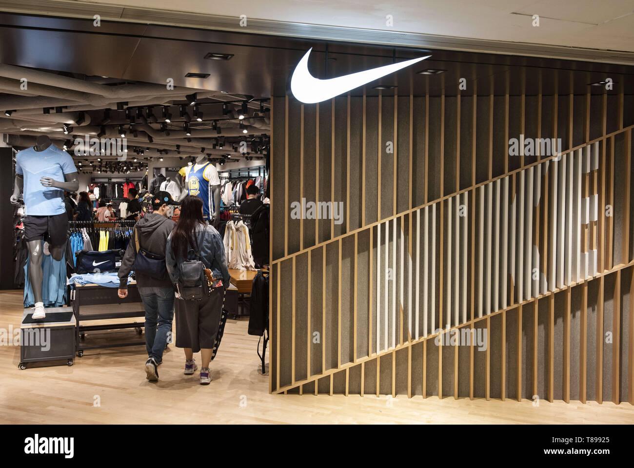 excepcional gama de estilos bastante baratas desigual en el rendimiento Hong Kong, China. 4 de mayo de 2019. Multinacional americana ...