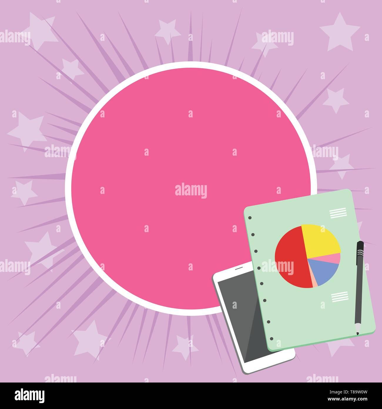 Smartphone Diseño Off Bolígrafo Encuadernación De Anillas