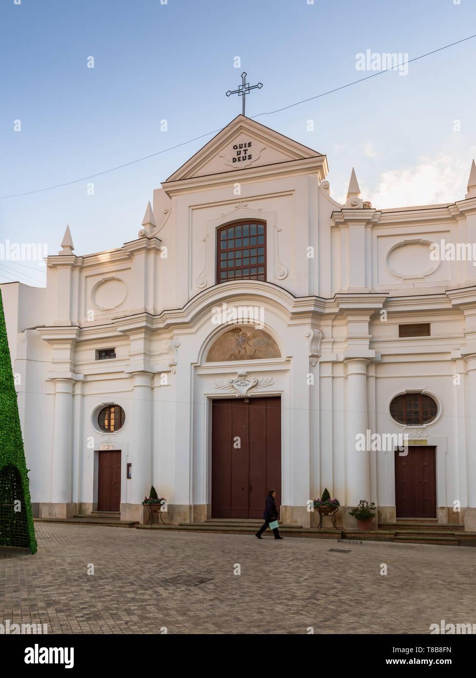 Pavimento di San Michele, Anacapri, Italia Imagen De Stock
