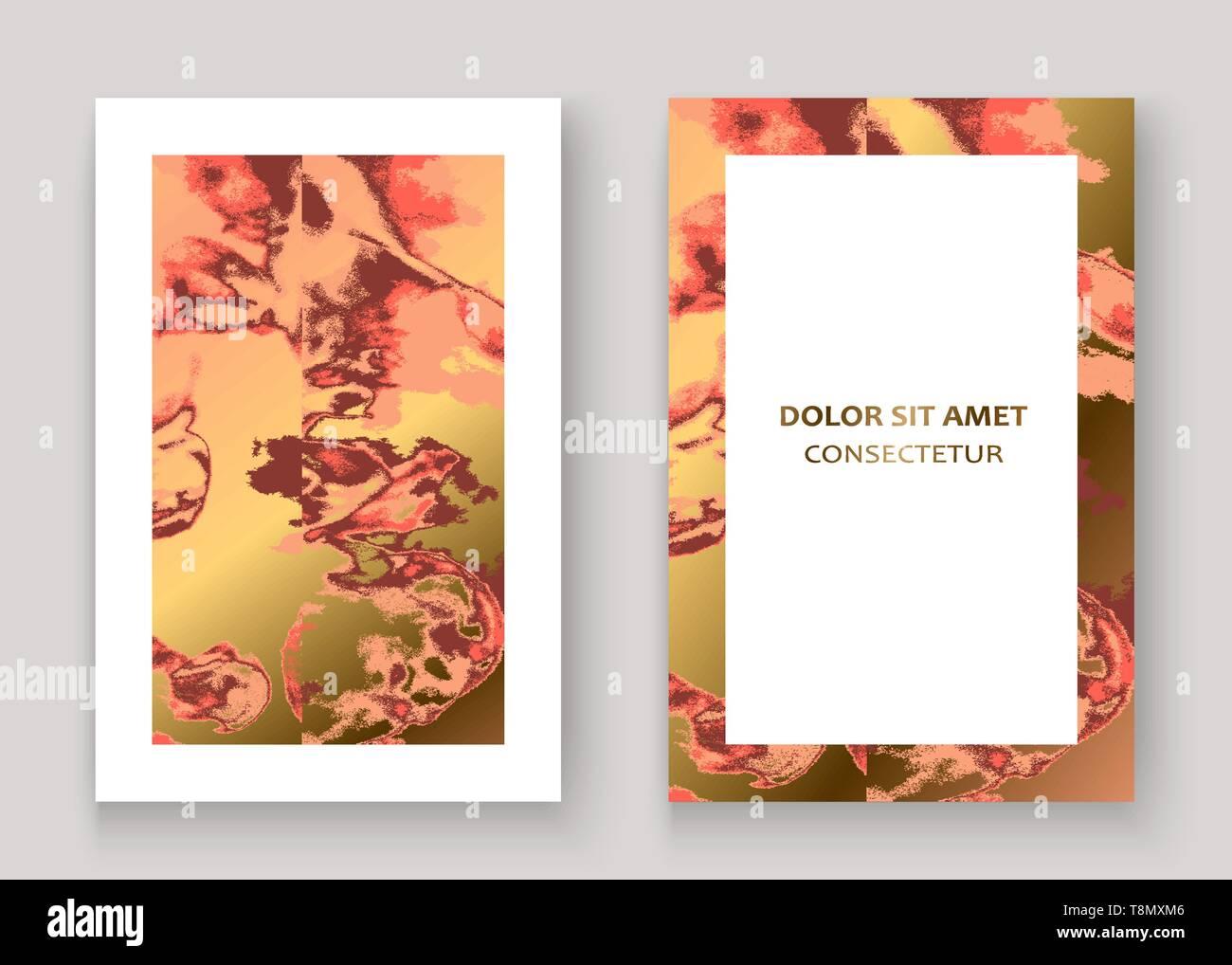 dbd523cc2 Textura de mármol coral de oro resumen antecedentes en diseño gráfico.  Glitter rosa de oro