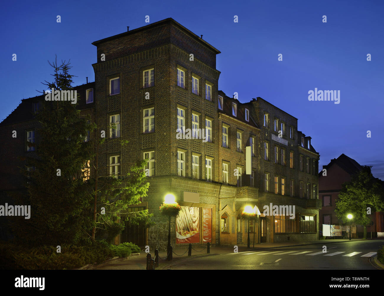Vista de Kostrzyn nad Odra. Polonia Imagen De Stock