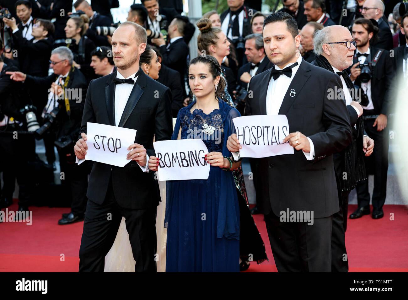"El Festival de Cannes. El 15 de mayo, 2019. Los huéspedes llega al estreno de ""LES MISÉRABLES ' durante el 2019 Festival de Cannes el 15 de mayo de 2019 en el Palais des Festivals en Cannes, Francia. (Crédito: Lyvans Boolaky/Image Space/Media Punch)/Alamy Live News Foto de stock"