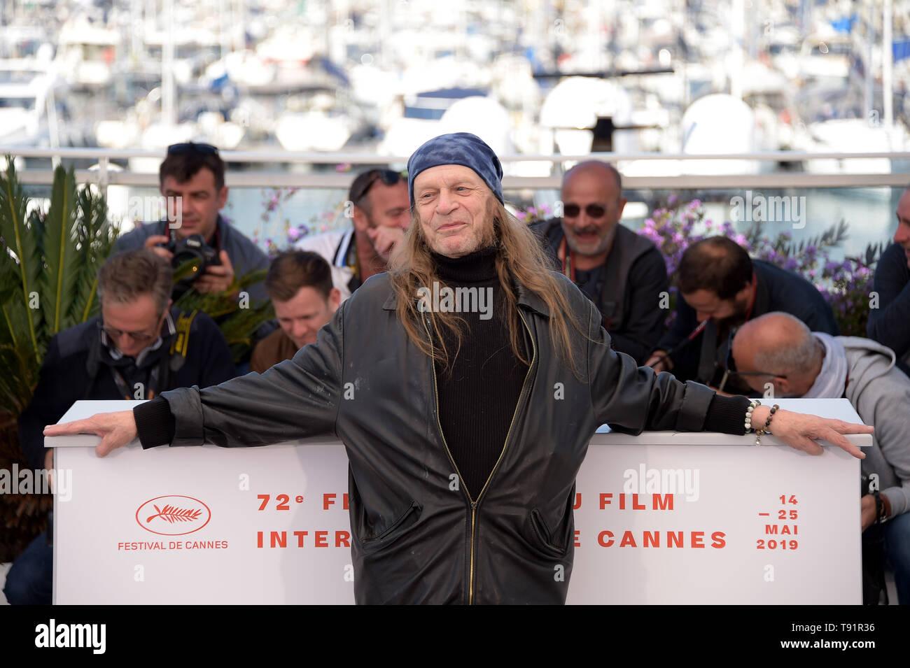 Cannes, Francia. 16 de mayo de 2019. 72ª edición del Festival de Cannes 2019, la película 'Photocall' brillante Foto: Leon Vitali Crédito: Agencia Fotográfica Independiente/Alamy Live News Foto de stock