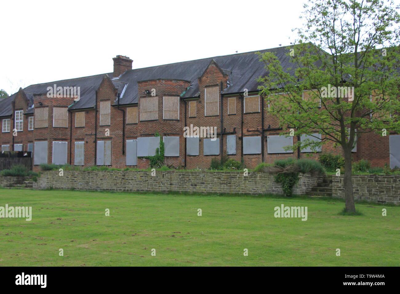 Thwaite Hall ex estudiante alojamiento Foto de stock