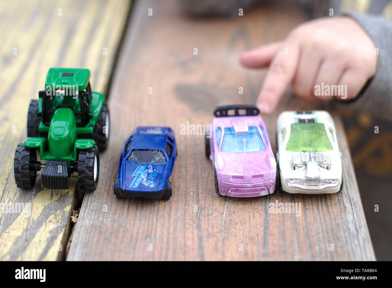 On Car Stockamp; Toy Fotos De Table Imágenes PkuiXZ