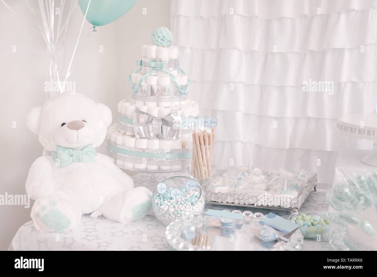 Decoracion Para Fiesta De Baby Shower.Decoracion Para Una Fiesta De Baby Shower Linda Torta De