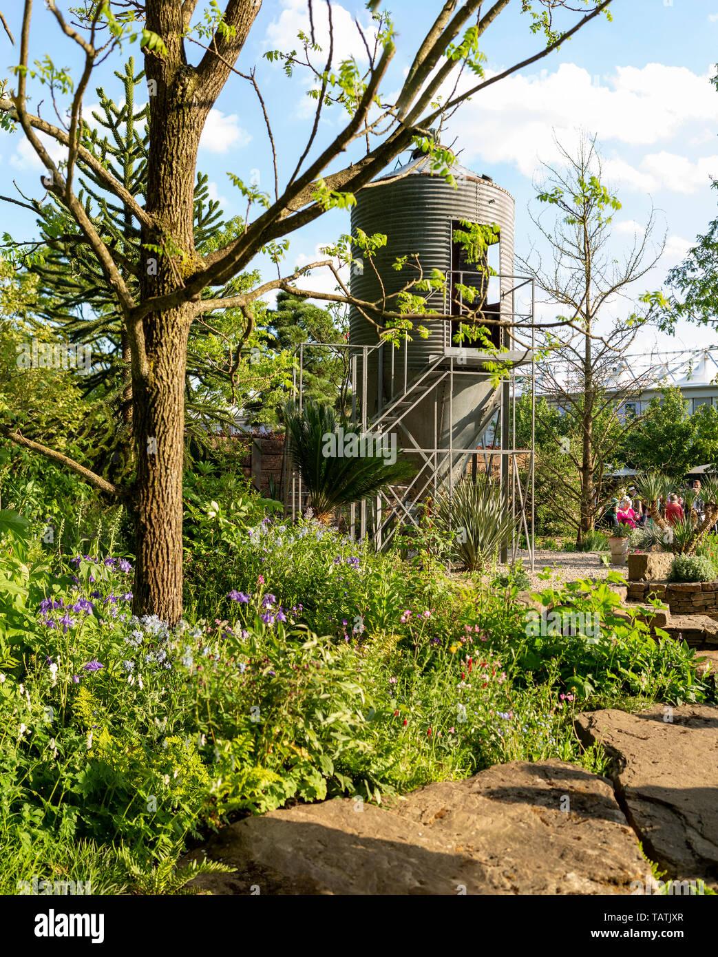 La resiliencia jardín. RHS Chelsea Flower Show 2019 Foto de stock