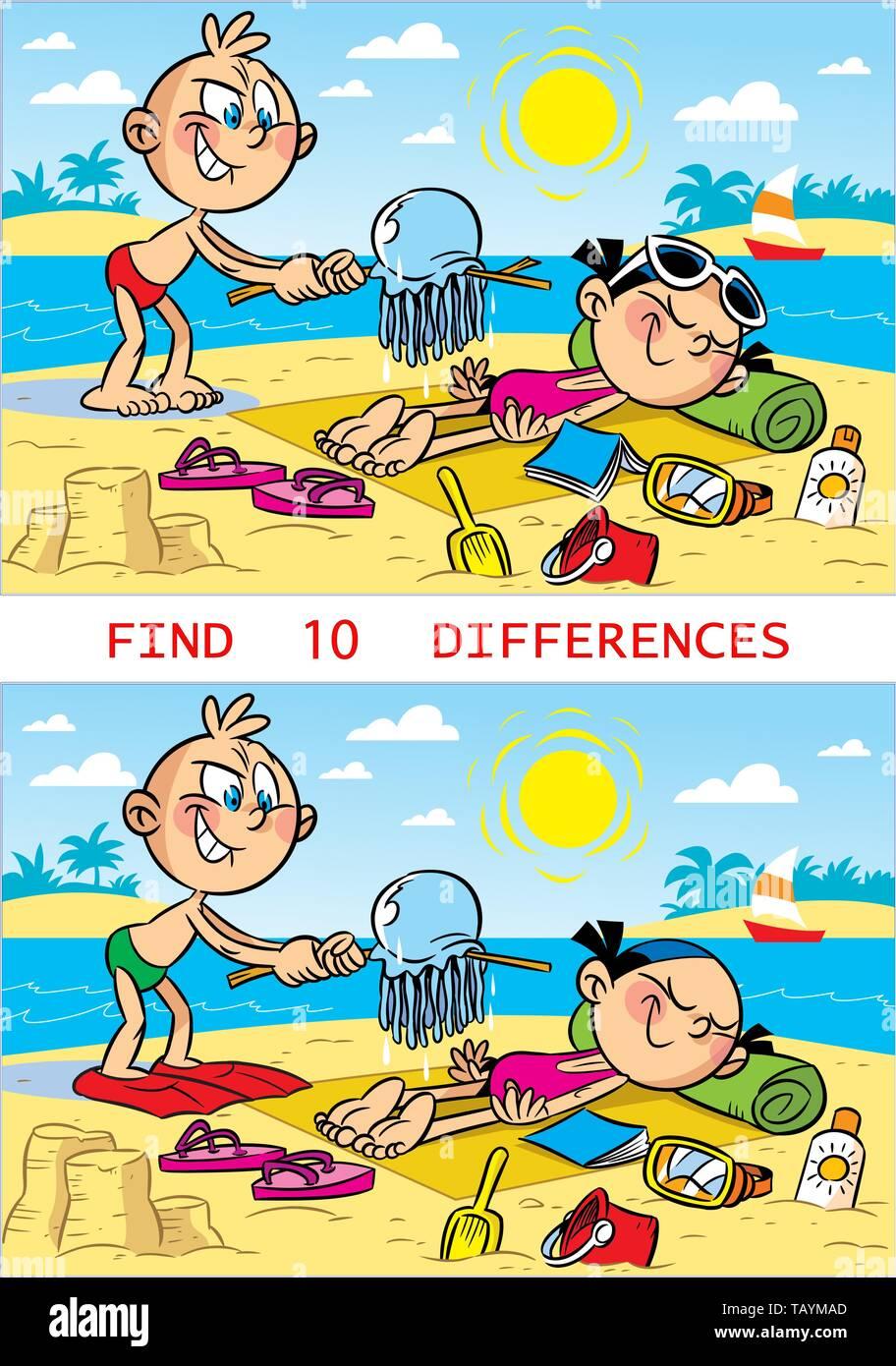 Encuentra Las Diferencias Fotos e Imágenes de stock - Alamy