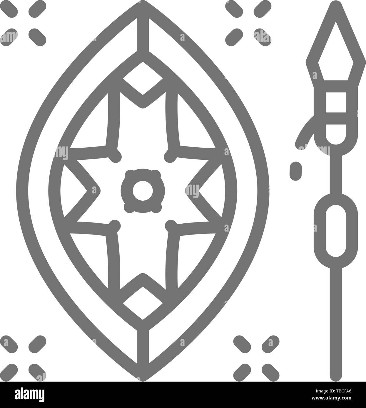 Escudo Masai Imágenes De Stock Escudo Masai Fotos De Stock