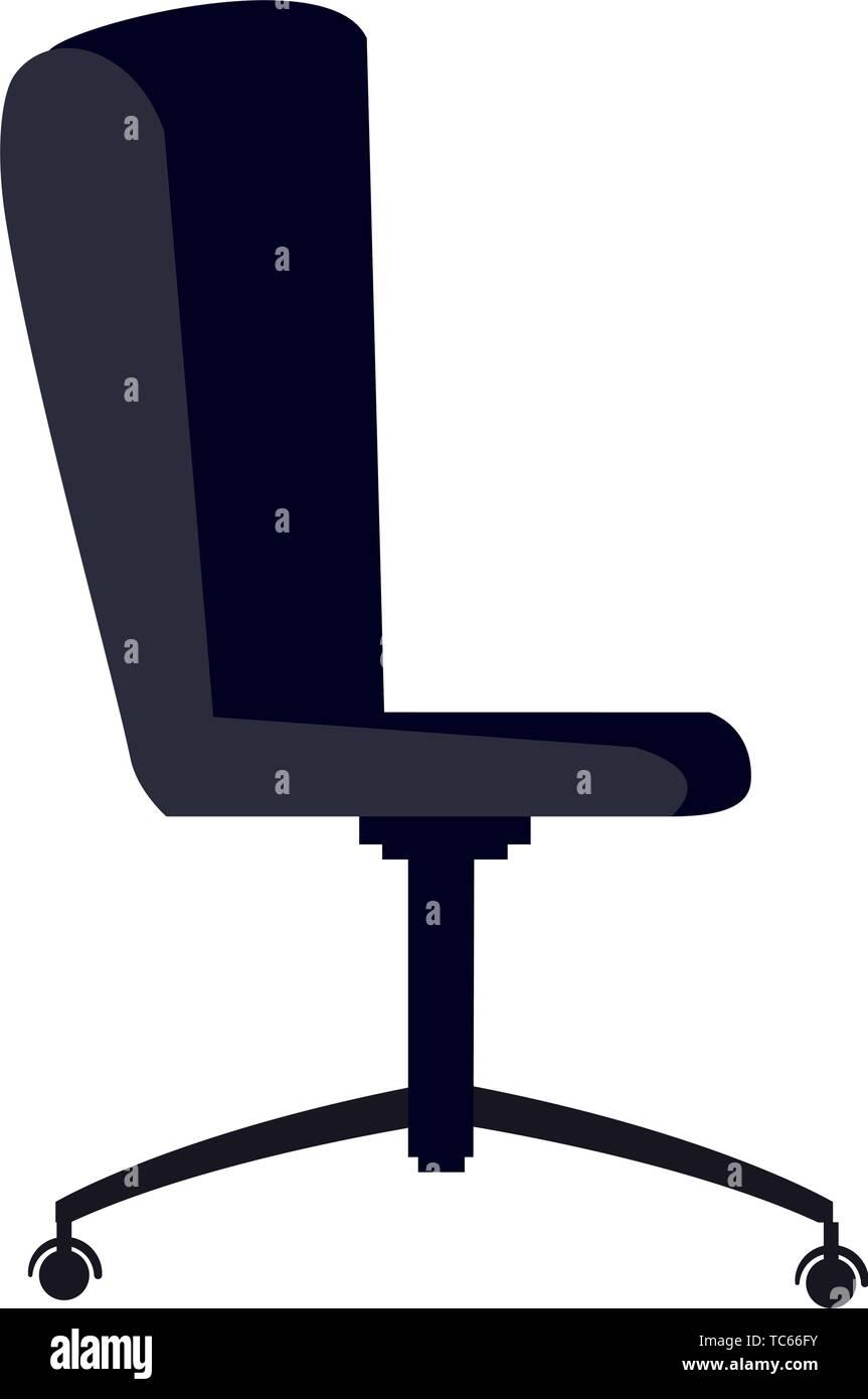 Silla Cartoon Oficina Ergonómica Vector Del Ilustración Icono Y6f7yvbg