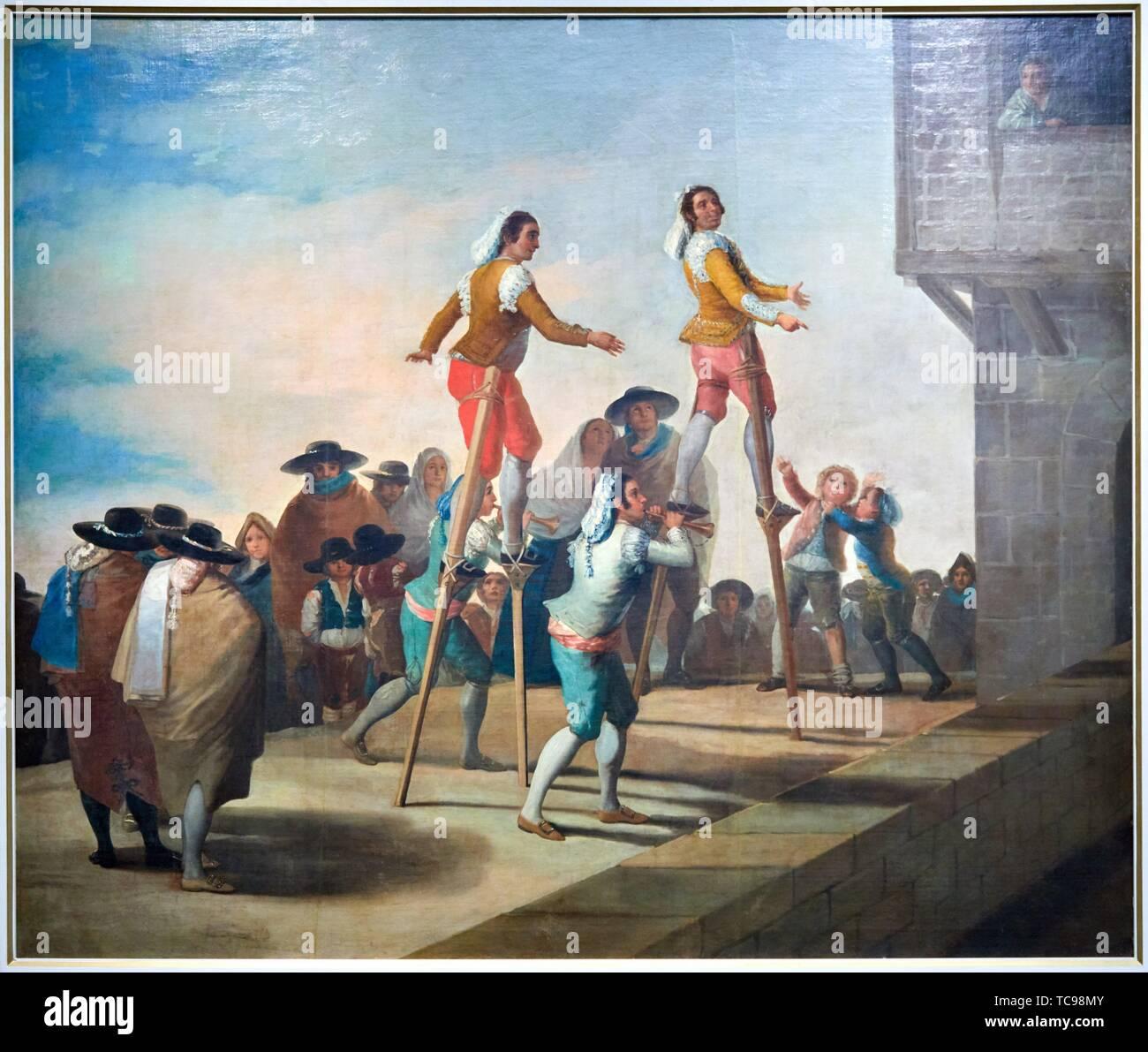 '''Sinclina'', 1791-1792, Francisco de Goya y Lucientes, el Museo del Prado, Madrid, España Foto de stock