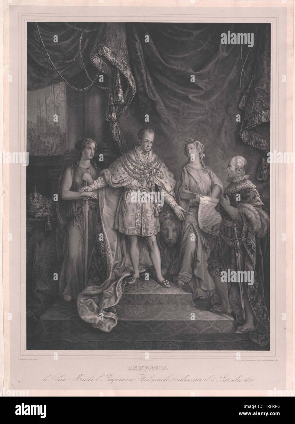 Ferdinand I, Emperador de Austria, Additional-Rights-Clearance-Info-Not-Available Foto de stock