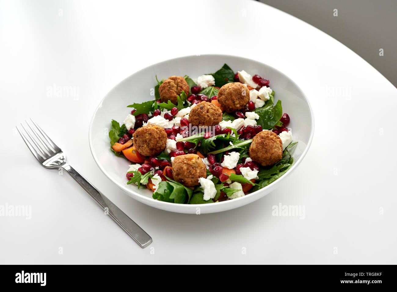 Ensalada Falafel Foto de stock