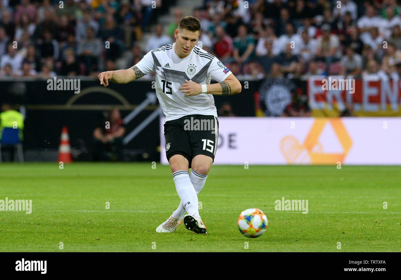 Clasificación para la Eurocopa 2020, Alemania - Estonia 8:0, Opel Arena Mainz: Niklas SŸle (GER). Imagen De Stock