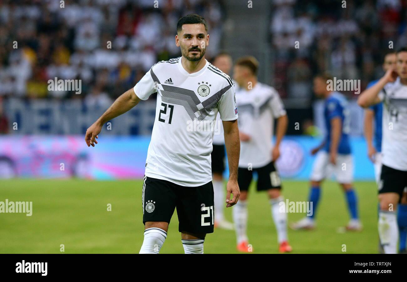 Clasificación para la Eurocopa 2020, Alemania - Estonia 8:0, Opel Arena Mainz: Ilkay GŸndogan (GER). Imagen De Stock