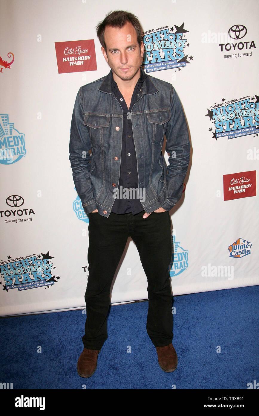 Nueva York, Estados Unidos. 13 de abril de 2008. Arnett en Comedy Central's Night de demasiadas estrellas alojado por Jon Stewart en el Beacon Theater. Crédito: Steve Mack/Alamy Foto de stock