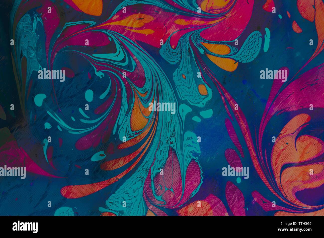 Veteado arte abstracto patrones como fondo de colores Imagen De Stock