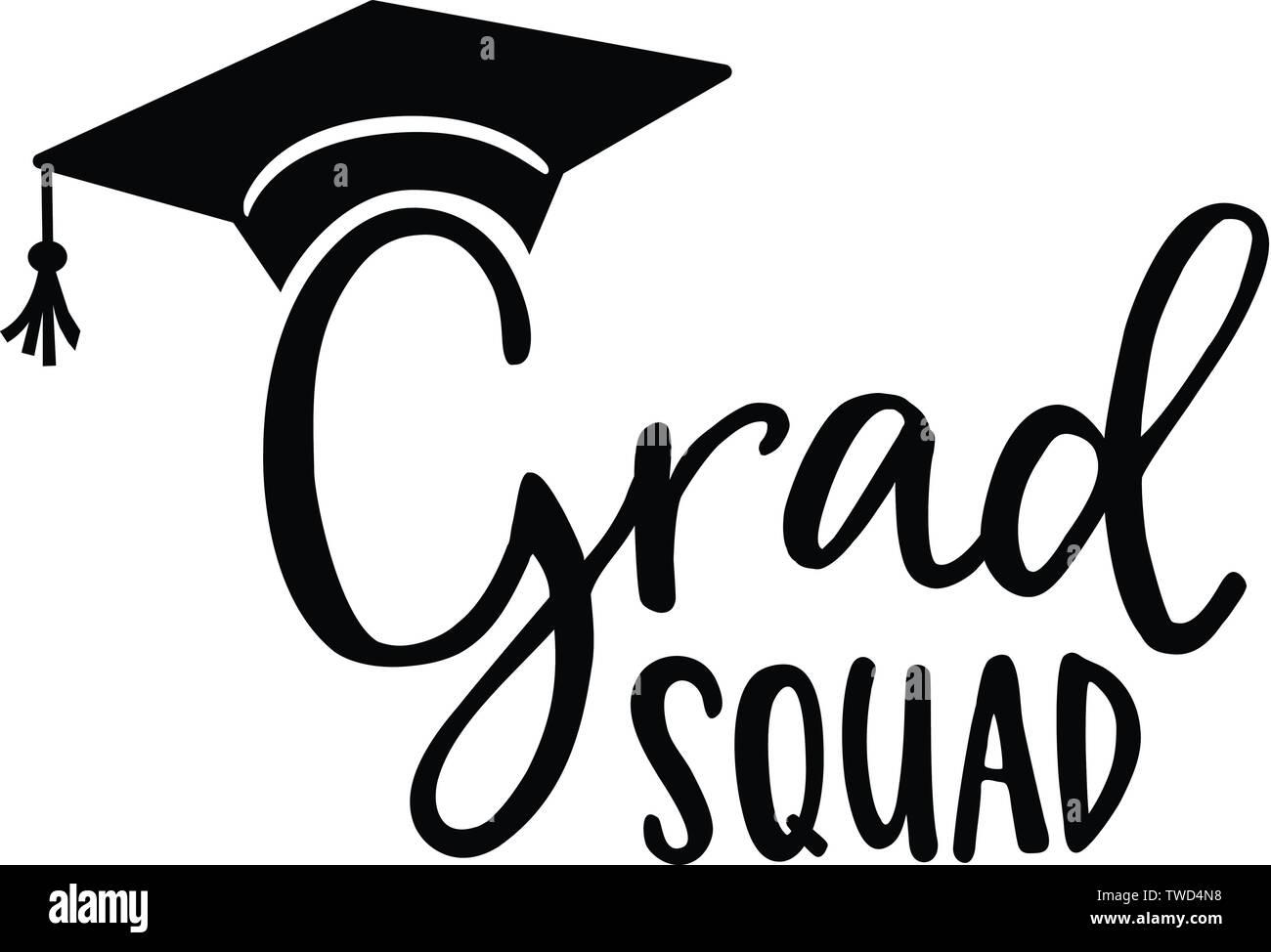 Grad Squad Cotización De Rotulación A Mano Tarjetas De