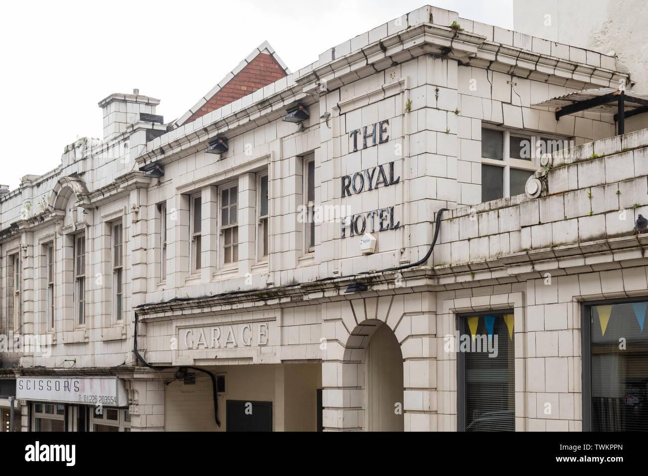 El edificio del Hotel Royal, Barnsley, al sur de Yorkshire, Inglaterra, Reino Unido. Imagen De Stock