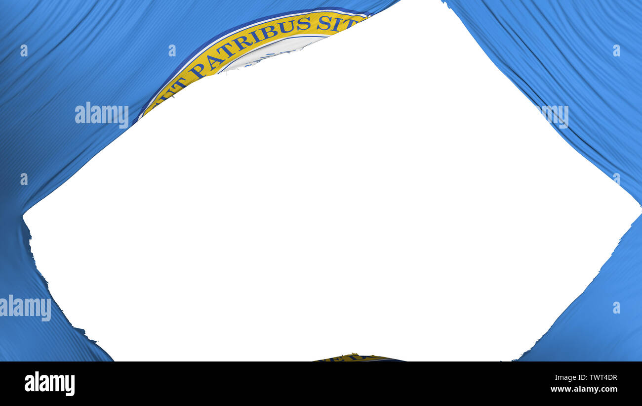 Divide Boston capital bandera Imagen De Stock
