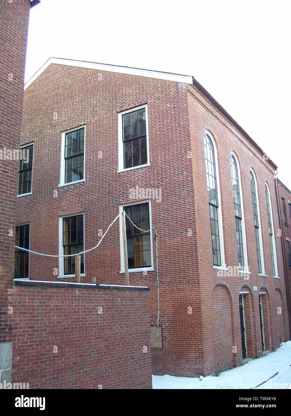 """""""Inglés: Tomé esta foto de la Casa Africana de Reuniones, de alegría Street en Boston el 28 de enero de 2008.; 28 de enero de 2008; trasladado desde en.wikipedia a Commons.; el original fue Swampyank uploader en Wikipedia en inglés.'; Imagen De Stock"""