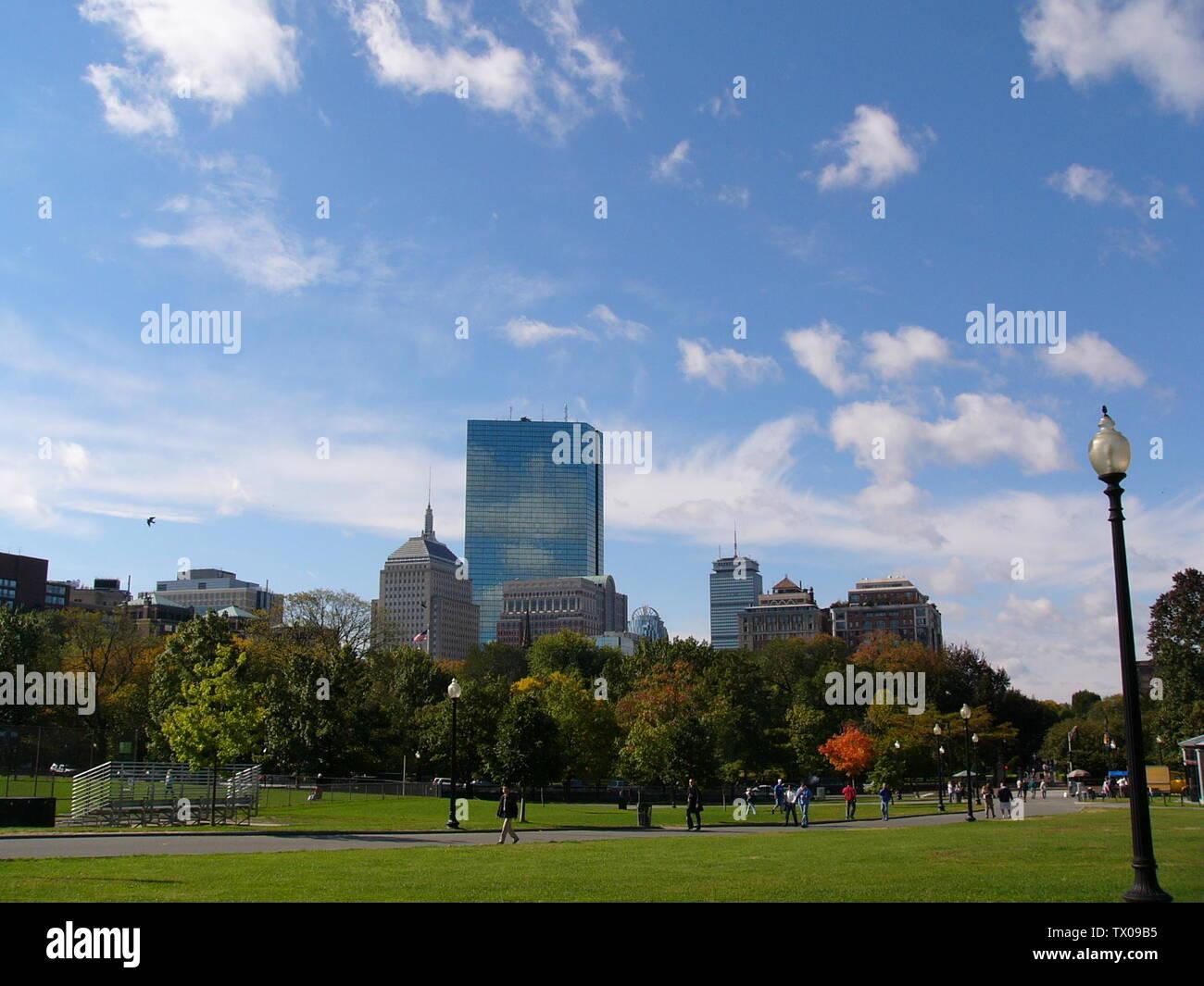 """""""Inglés: Boston Common.; dateUnknown fecha desconocida. (22 de septiembre de 2006 (fecha de carga original); Auto-fotografiados; Skyguy414 en la Wikipedia en inglés; ' Imagen De Stock"""