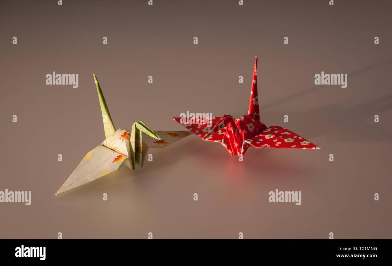 Origami Ballena Collar geométrico vendedor del Reino Unido