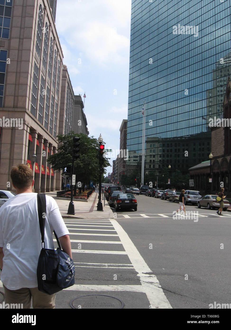 'Fotos de Boston y Harvard adoptadas sobre Wikimania2006. Por favor consultarme antes de utilizar imágenes que muestran personas.; el propio trabajo; drork; ' Imagen De Stock