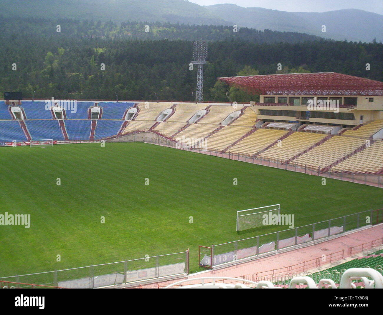 """""""Inglés: Dinamo Arena Georgia - Copa Mundial de la FIFA España 2014 Qualifier - 11.09.12; 11 de septiembre de 2012, 23:30:00; el propio trabajo; LUKISH_8; ' Imagen De Stock"""