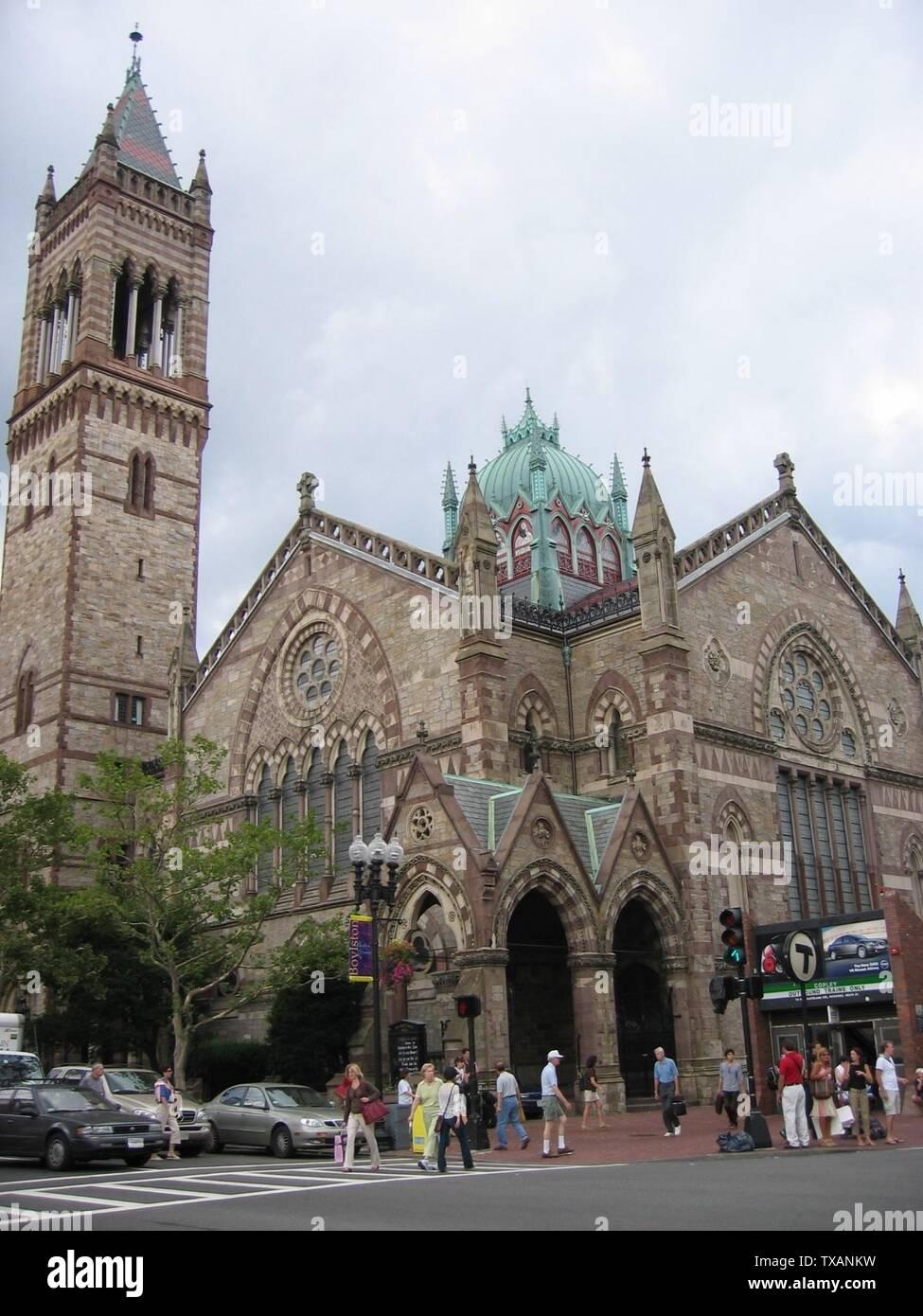 """Inglés: Old South Church, Boston, Massachusetts; el 29 de junio de 2006 (fecha de carga original); trasladado desde en.wikipedia a Commons.; Physicistjedi en Wikipedia en inglés; ' Imagen De Stock"