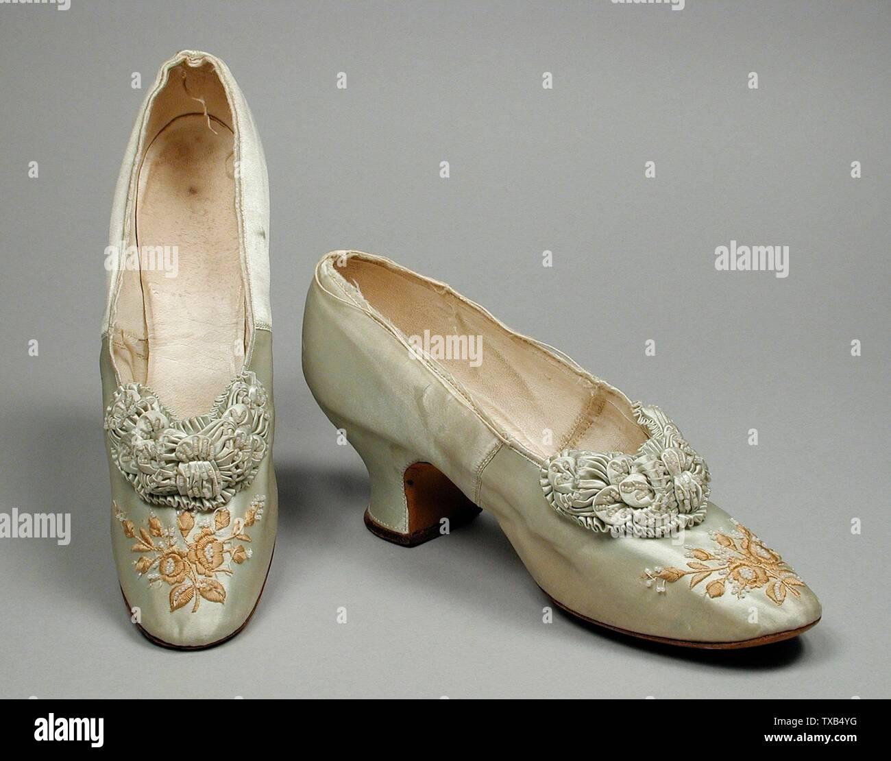 CHM QS Ladies Edwardian Era Shoes