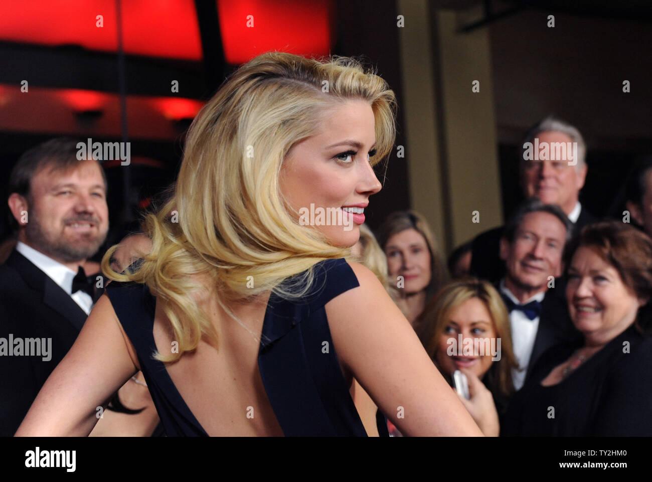 La actriz ámbar oído asiste a la 64ª anual de Directors Guild of America Awards en Los Angeles el 28 de enero de 2012. UPI/Jim Ruymen Imagen De Stock