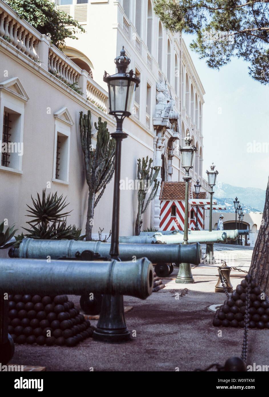 Francia.monaco.Monte Carlo.El palacio real de Mónaco. Foto de stock