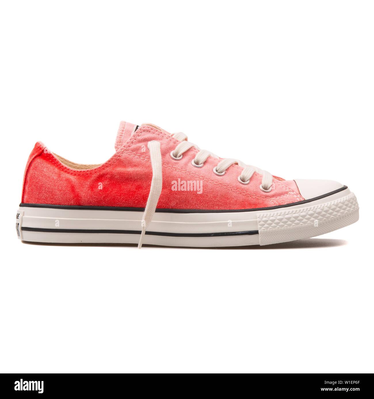 converse chuck taylor all star rosa roja