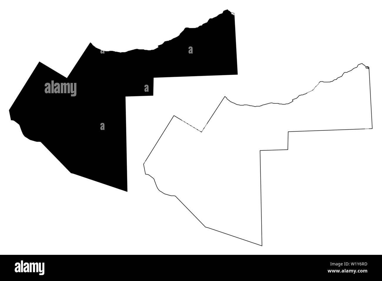 Cuerno De Africa Mapa.Woqooyi Galbeed Region Republica Federal De Somalia El