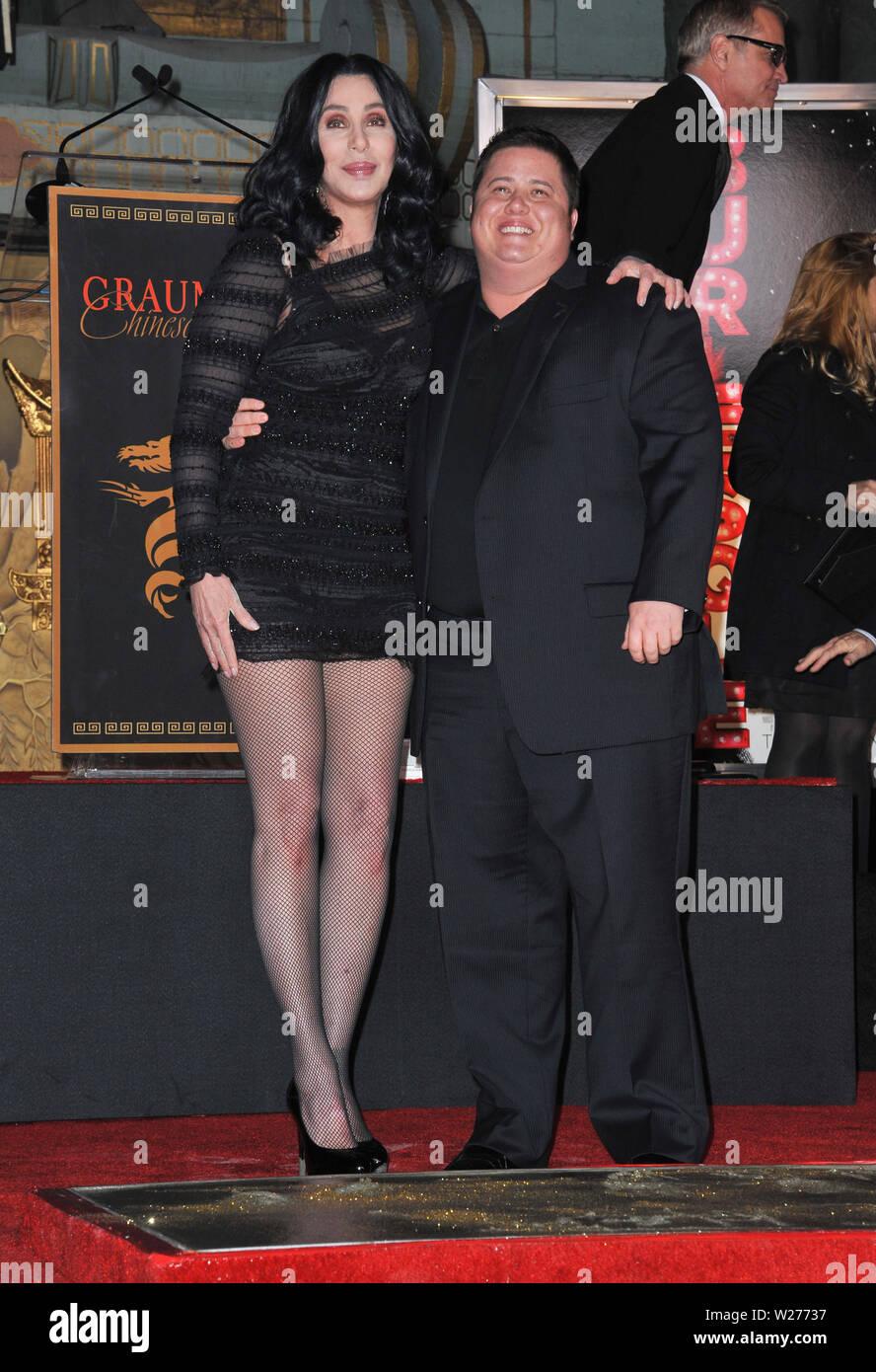 Cher And Chaz Bono Fotos E Imágenes De Stock Alamy