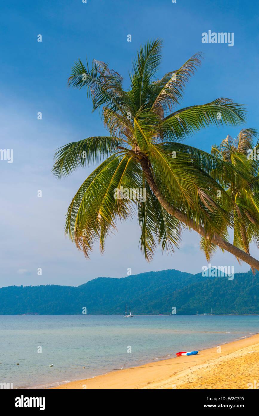 Malasia, Pahang, Pulau Tioman (la isla de Tioman), Berjaya Beach Foto de stock