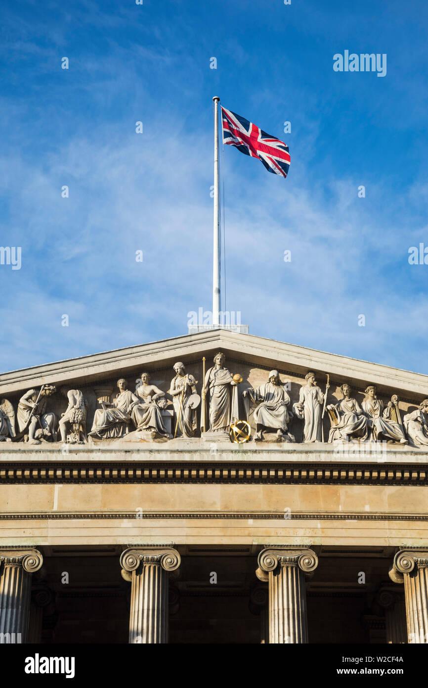 Museo Británico, Bloomsbury, Londres, Inglaterra Foto de stock