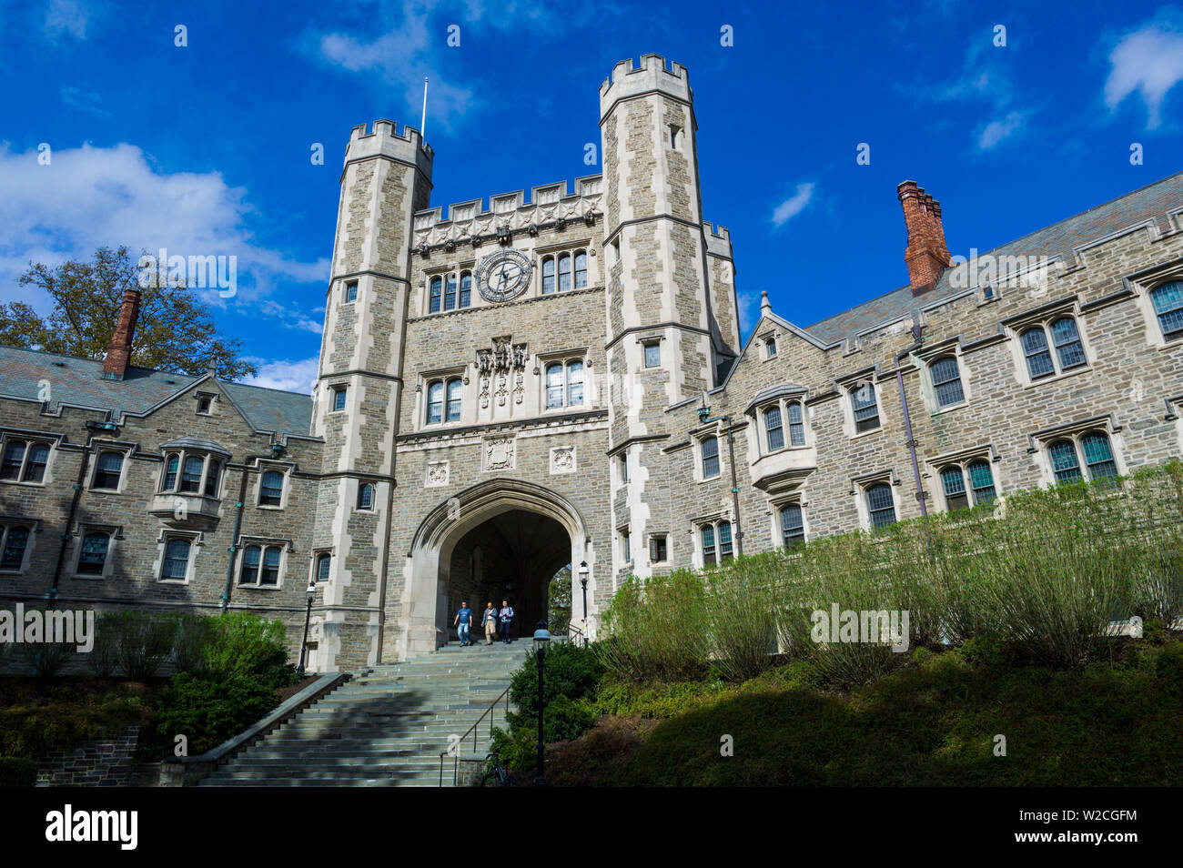 Los Estados Unidos, Nueva Jersey, la Universidad de Princeton, Princeton, Madison Hall Imagen De Stock
