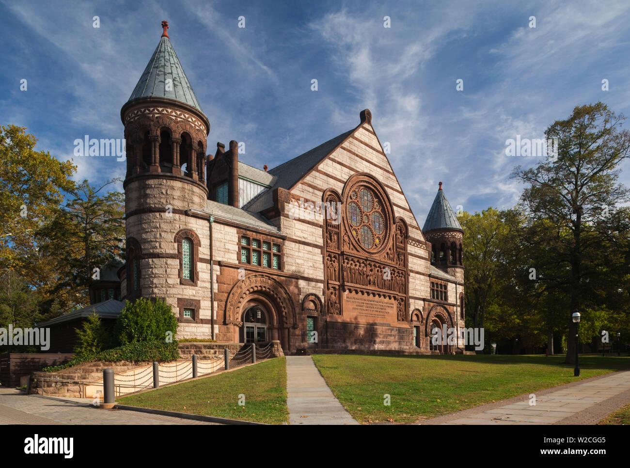 Los Estados Unidos, Nueva Jersey, la Universidad de Princeton, Princeton, Richardson Auditorium Imagen De Stock