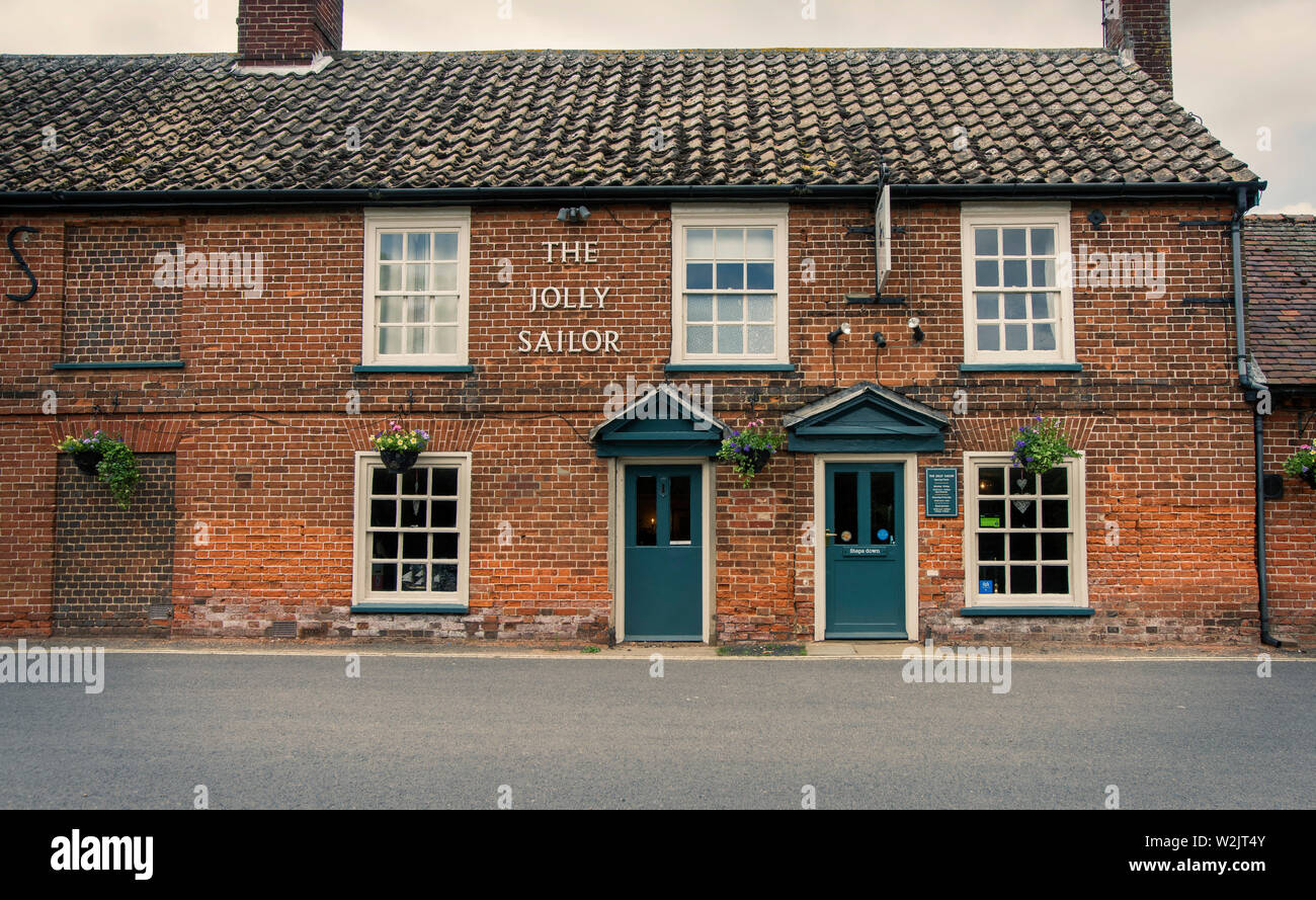 Jolly Sailor Public House, Orford , Suffolk Foto de stock