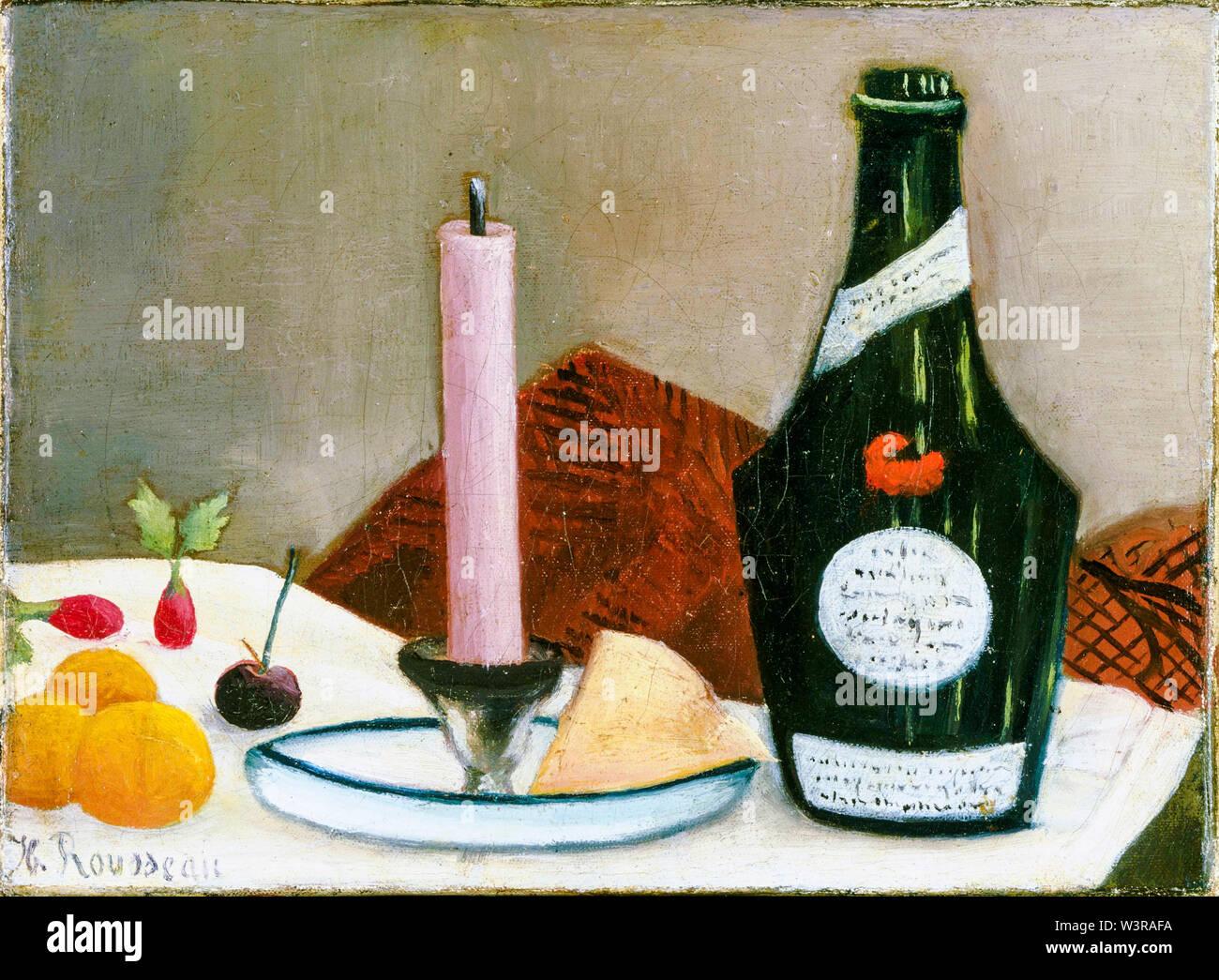 Henri Rousseau, la vela rosa, bodegón pintura, 1908 Imagen De Stock