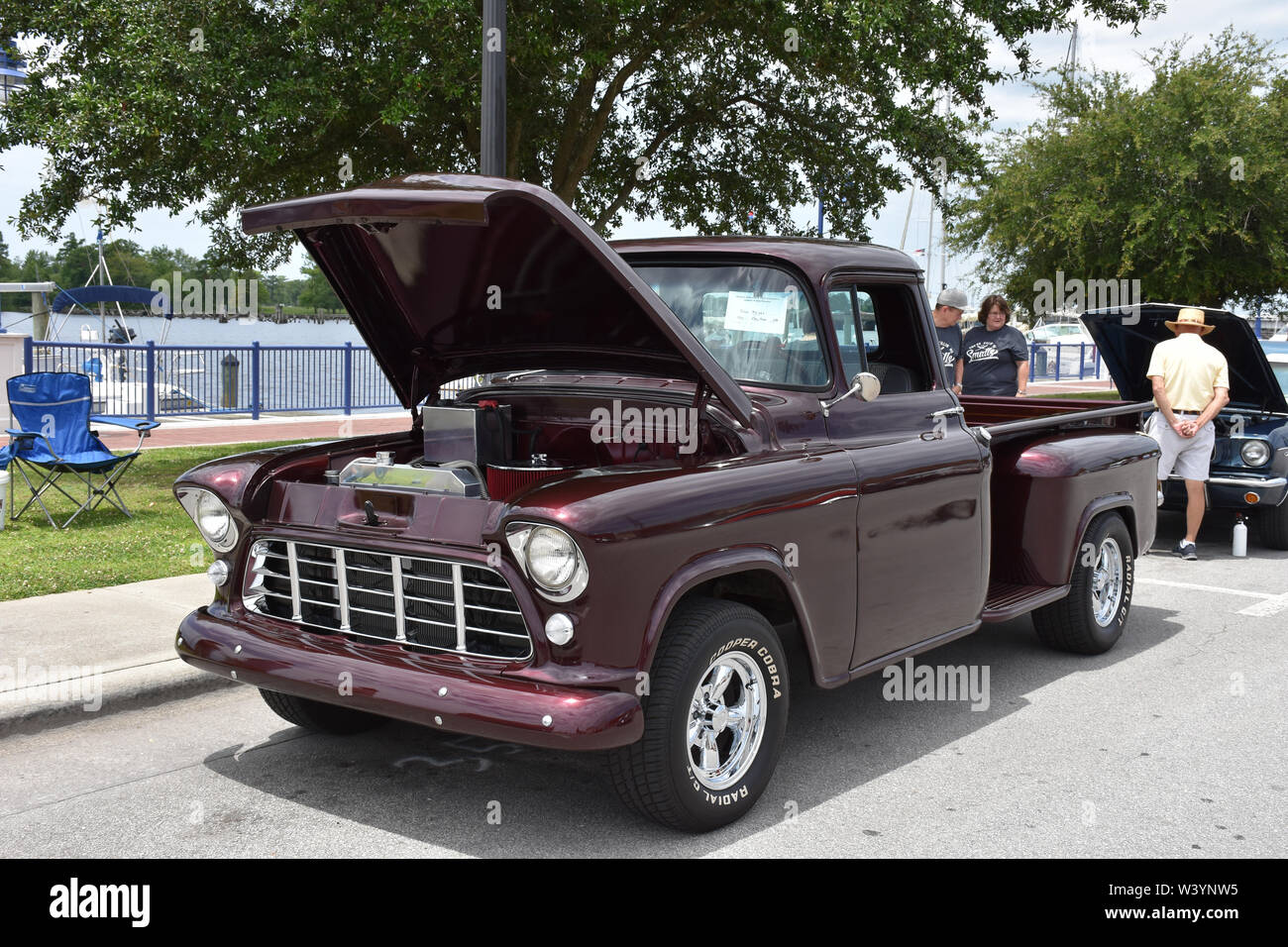 1956 56 CHEVY TRUCK Parking Sign