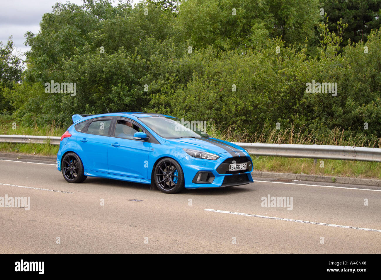 Blue Ford Focus Rs Fotos E Imagenes De Stock Alamy